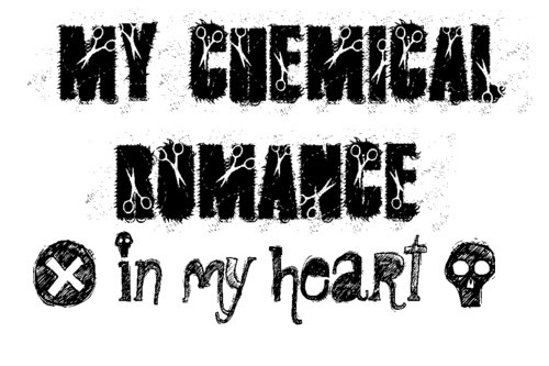 my chemical romance! HIM + paramore.. but ther r so many more! लोल the सूची culd b endless haha :p