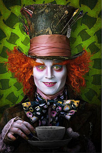of course!!!!!!!!!!!!!!!!!!! he makes the hatter look...well....hot!!!! xD kinda.... =P