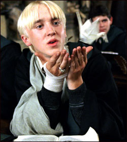 DRACO MALFOY!!! ♥ ♥ ♥ Fred would be my سیکنڈ choice :)