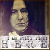 Severus Tobias Snape. Always and forever
