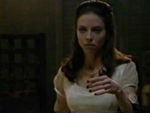 """My favorite vampire would have to be Drusilla from Buffy the Vampire SLayer.No other vampire even comes close to being as creepy and mysterious as Drusilla. She seems so innocent and plays with her """"dollys"""" but can also be badass."""