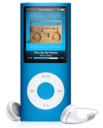 i have a blue ipod chromatic this picture is a pic of mine but its not a pic i took