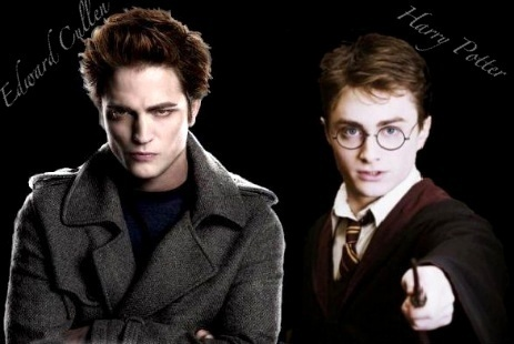 it's totaly true! You're really right! Harry potter have a movie with effects, but the history is a shit! Ok ma cà rồng and ma sói dosn't exist but the history is almost real, because the ma cà rồng are not what ma cà rồng used to be, they're not bloodsucks, they're almost real! Like...Edward EAT a pizza, bánh pizza (I know he does't like but...)!!!!Edward really seans human!! Harry Potter is just totaly impossible to happen when Twilight is almost possible.