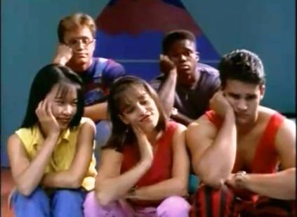 It's A) Trini, Kimberly, Jason, Zack, Billy