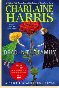 """What I know, is that Sookie Book 10: DEAD IN THE FAMILY, will be out MAY 4th 2010!!! I am so excited!!! And while I was surfing the author's site {www.CharlaineHarris.com} I found out that after she finishes a short story (or stories) she """"follishly agreed to do) she will write SOOKIE BOOK 11!!! I can't wait!!!!!!!!! Here is the cover art for SOOKIE BOOK 10 bởi Charlaine Harris! :)"""