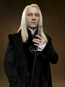 Lucius Malfoy all the way. That long hair is a killer! Yummmm... And the way he can shut آپ down with just those eyes? Delicious. Wow, I sounds like a real glutton for punishment. LOL