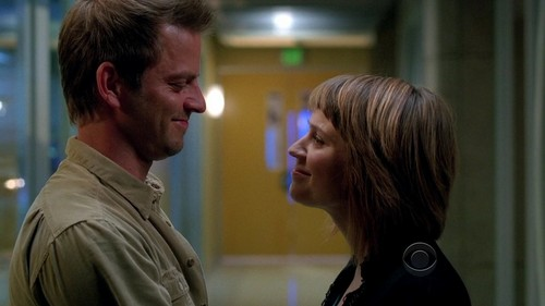 My #1 couple is Danny and Lindsay from CSI: NY. They're together (married!!), and they're totally adorable =)