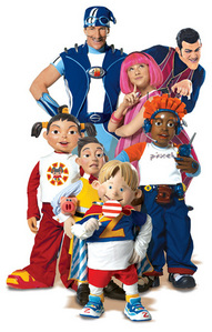 lazy town:(