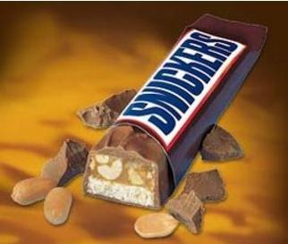 On most days, it is Snickers. But generally, I like almost everything. I'm addicted to candy!