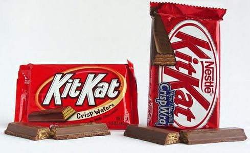 Kit Kat chocolate bar! =D