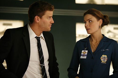 Mine is Brennan and Booth their not together yet but hopefully it will be soon :D <3