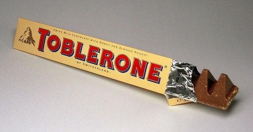 Toblerone ! :) yum