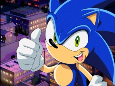 SONIC IS madami THAN CUTE HE IS H.O.T. HOT!!!