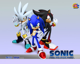 I don't think sonic is cute(no offence to the ones who do) but Shadow and Silver are my fav