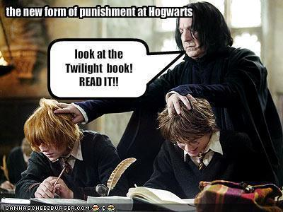 Nope, not at all. I do 愛 this Twilight picture though, LOL!