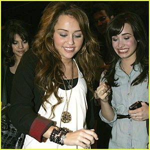 demi and miley!!!! they are so good at it! but i like selena at acting!