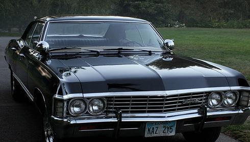The Metallicar ('67 Chevy Impala) from Supernatural. :)