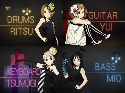 i wanted to be in 'K-ON!' i really like the theme it's all about संगीत