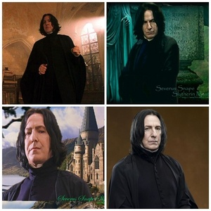 Severus Snape of course . I Amore everything about him.
