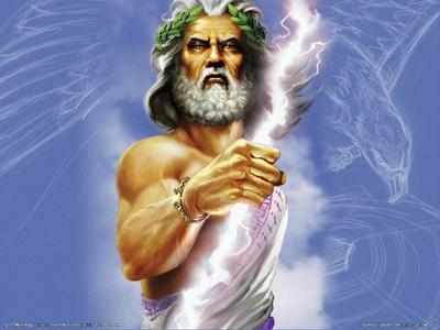 I got Zeus! Haha, YAY for that!!!!!! XD