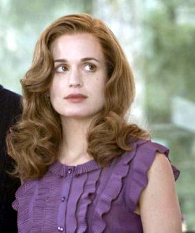 Esme. Her and Carlisle are my number one fave Twilight Couple, after that is James and Victoria, then Renesmee and Jacob!