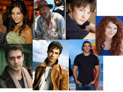 I think I have the perfect cast, I am going to try to add pictures... Melanie/Wanderer- Camilla Belle Uncle Jeb-Jeff Bridges Jamie-Randy Shelly Jared- Henry Cavill Ian- Ian Sommerhalder Kyle- Tom Welling Wanderer (New Body)- Lauren DeLong