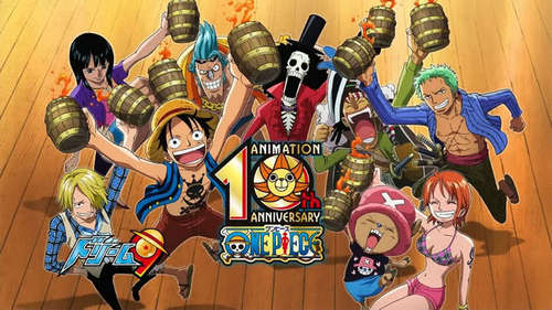 One Piece. I'll never get tried of it