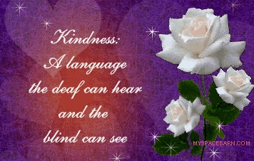 Very good pregunta Susie ! I think God has dado us all the gift of choice.I choose to be kind and this quote explains my personality very well as my work is with handicapped children <3