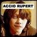 i like to tease my friend that he looks like rupert grint, he doesnt like it but i tell him its good cause rupert is cute :)