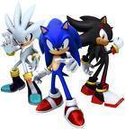 i प्यार sonic and shadow cause they are so sexy and shadow can teleport, cool story, and he has a motorcycle and sonic is nice, fast, and sexy!!!