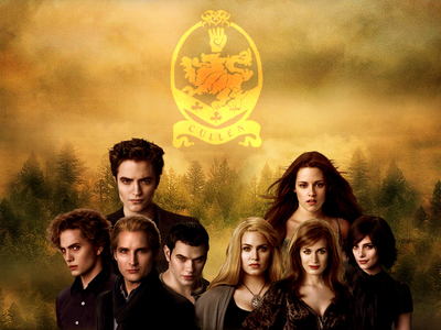 I really like all of the Cullen's, but my お気に入り male character would have to be Emmett, and my Fav female character's are between Alice,Rosalie,and Bella