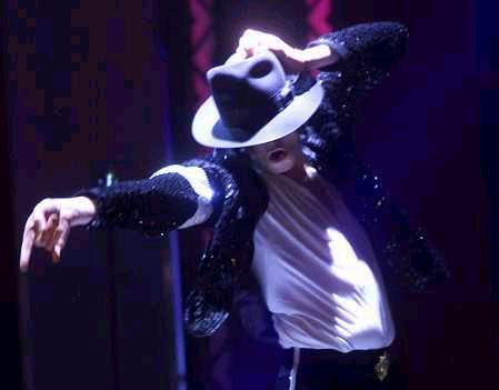 "thats what i though, when i was watching the video clip of watcha say i was like ""aye thats an mj move"" when he was playin with his hat, looks like a 3 taon old tryna reck tha hat but when mj does it, its like magic seriously :)"