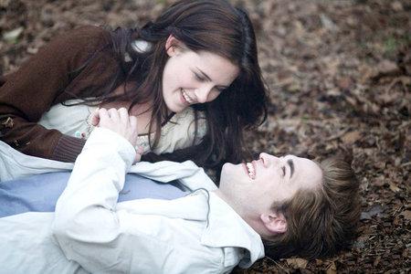 Edward & Bella so happy & relaxing just enjoying each other <3 x