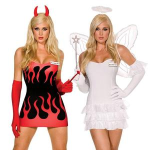 ummm i've never really though about it but i tnink im gonna be an angel or a devil... what do u think.?