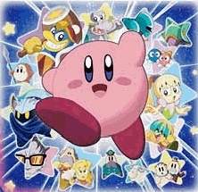 Kirby's cute bekas thats the way he is