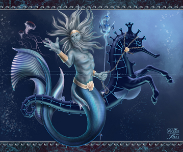 My Father is Poseidon!I'm related to Percy!!!
