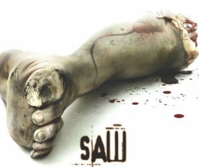 The ONLY movies that really give me nightmares are the Saw movies!! I had to stop watching them after the third movie because it FREAKED me OUT!!!!!!!!