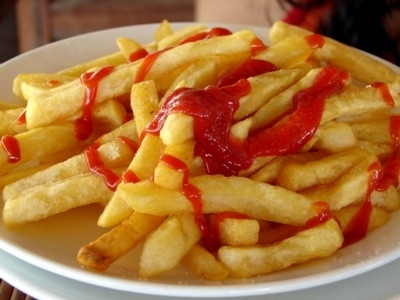 french fries :) aww this was so aléatoire that made me hungry...