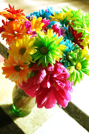 Colorful bulaklak :)