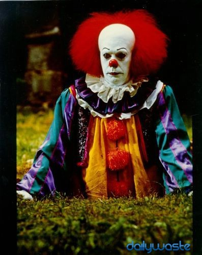 "Watch the movie ""it"" about the clown!! The freaking scariest!!! Aaaah, you will be terrified of clowns nd baloons afterwards. Also maybe ""The messengers"" Its pretty scary. I waz scared to be in my own house after i watched that in my bedroom!"