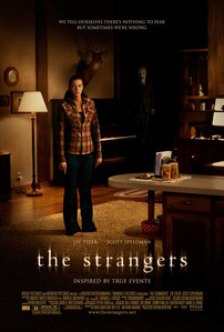 The scariest film I've seen recently is The Strangers. For best results watch it at night when you're by yourself.