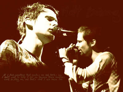 MATTHEW BELLAMY!!! The lead singer/guitarist/pianist for the awesomest band in the world...MUSE!!!! I Cinta him sooo much!!