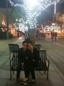 As of 2010 they are still together and I think they are cute together :] btw that IS a recent pic.