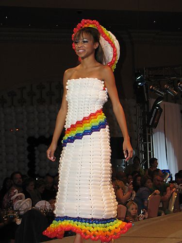 No, but I wanna wear something like this!
