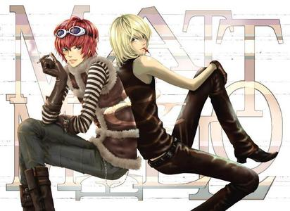 Death note mello and matt sex