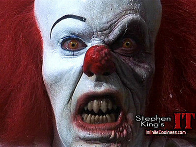 No, it just makes me want to puke :) I hate clowns!!