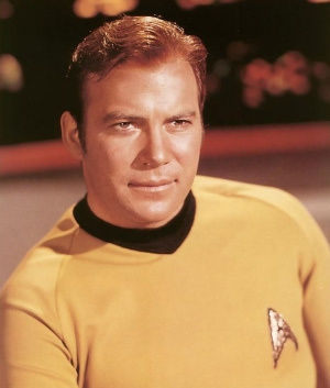 My first big crush was Captain James T. Kirk of 星, つ星 Trek ♥