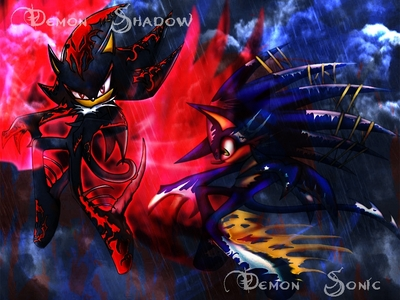 If you're the one who drew this then someone is jacking your stuff man! But hell yeah! I like all the demon characters.