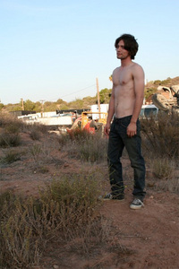 i would pick jackson rathbone he is hot!!! this is a of a new movie he is in named Hurt....he looks good without a shirt! :-)