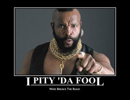 I PITY THE FOO!